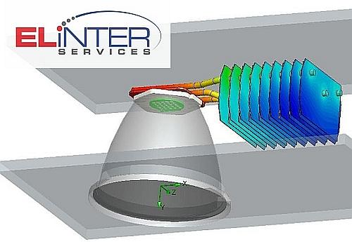 Einter LED CFD Thermische Simulation Entwicklung Kühlung Kühlkörper